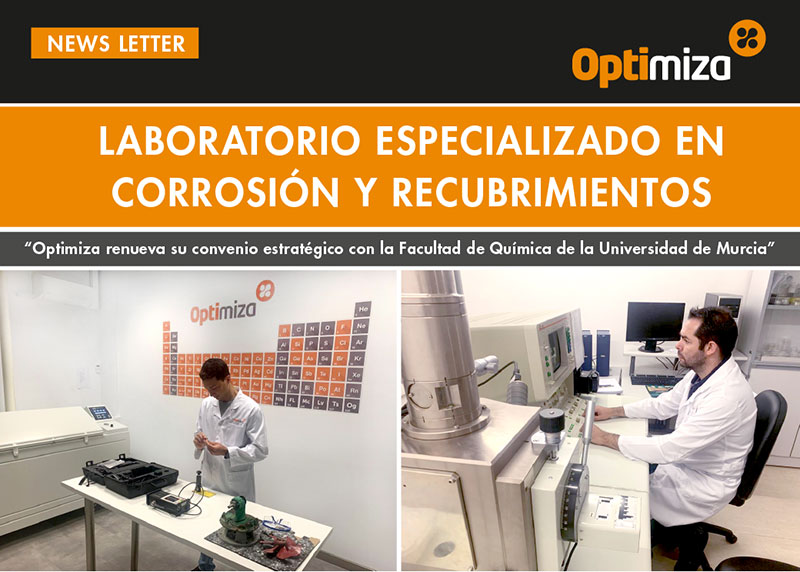 Laboratory specialised in corrosion and coating